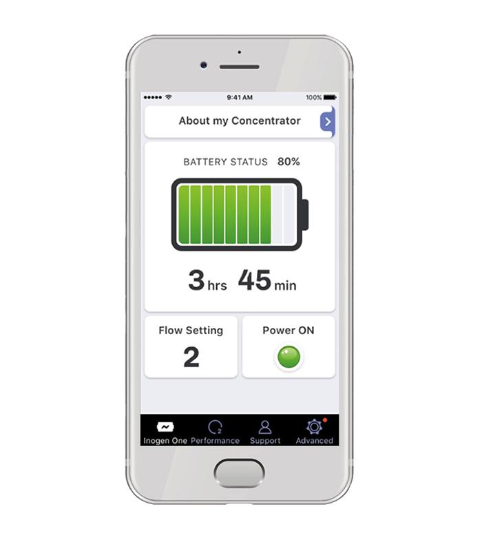 App per Inogen One G5